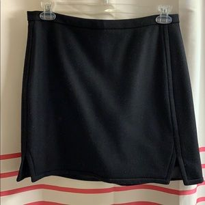 J. Crew wool skirt with notches